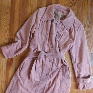 Vtg Trench Coat